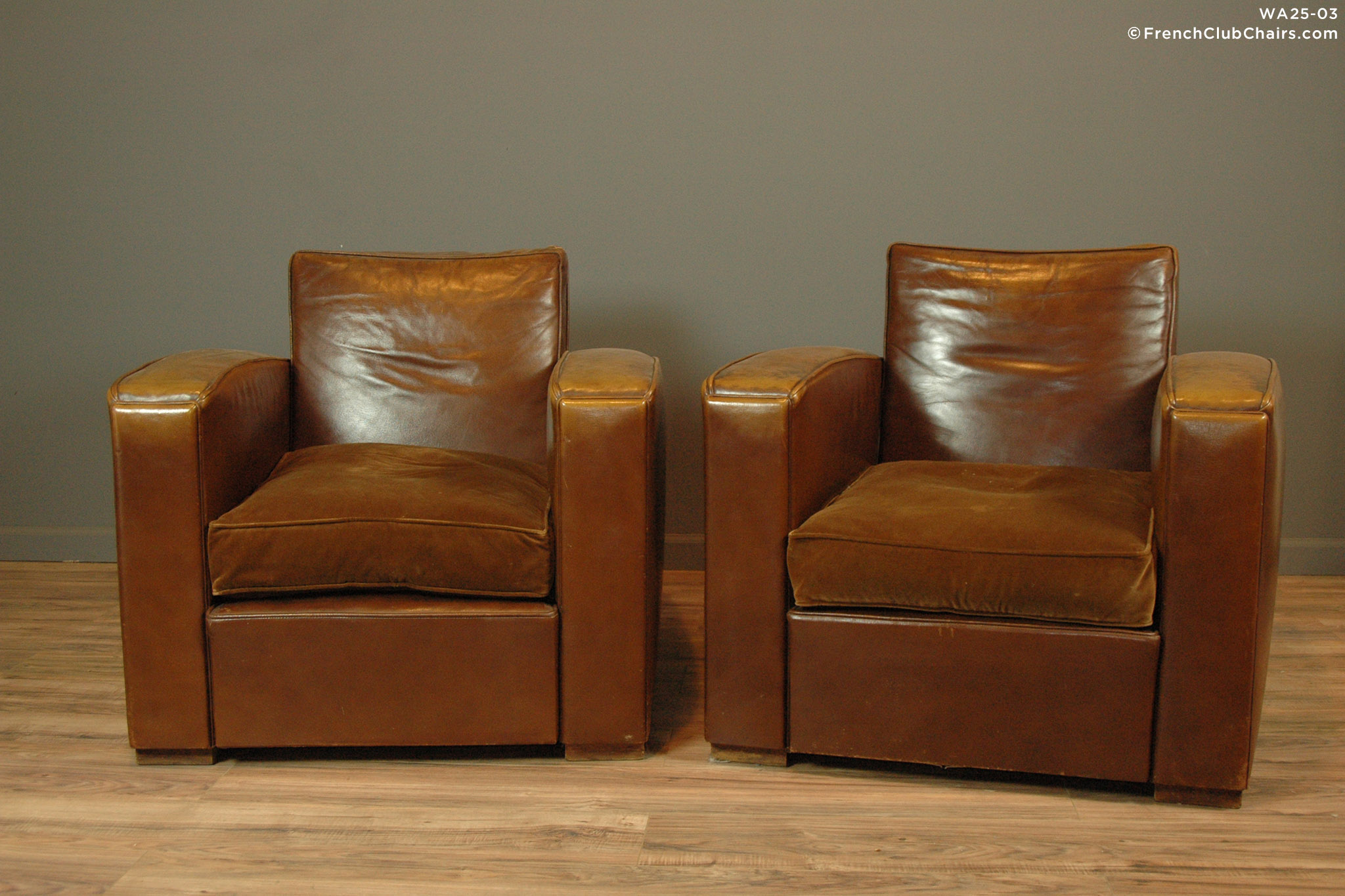 WA25 03_01_DSC_8469 Wa_fcccom. WA25 03_01_DSC_8469 Wa_fcccom. $9,750.00.  Chalon Square Pair Of Leather French Club Chairs ...